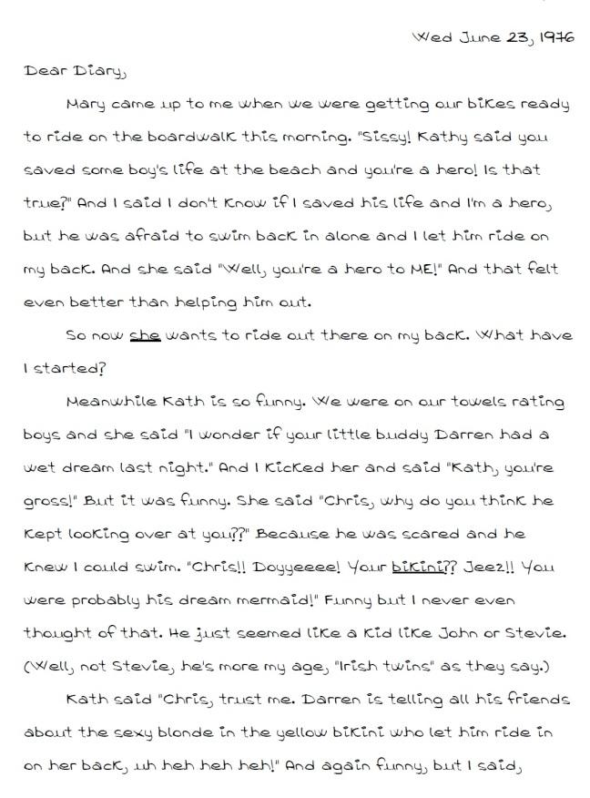 Dear Diary 04