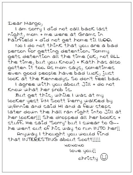 YDTSI note - bumping into Jill