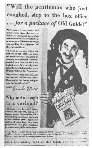 Groucho Old Gold