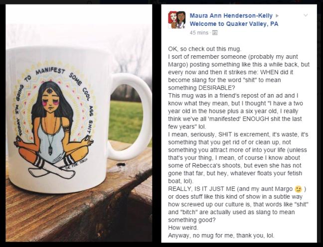 Maura - shit mug
