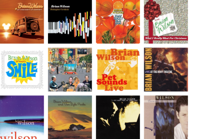 Brian Wilson solo album montage