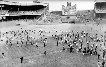 Polo Grounds last game