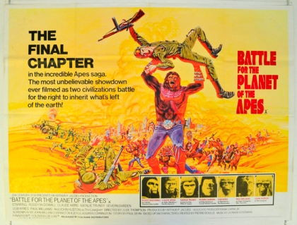 battle for the planet of the apes - cinema quad movie poster (1)